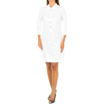 Vêtements Femme Robes courtes Armani jeans Robe à manches longues Blanc