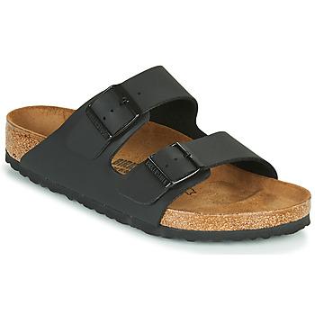 Chaussures Mules Birkenstock ARIZONA LARGE FIT Noir