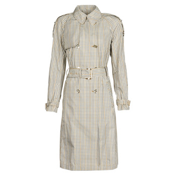 Vêtements Femme Trenchs MICHAEL Michael Kors PLAID PACKABLE TRENCH Beige