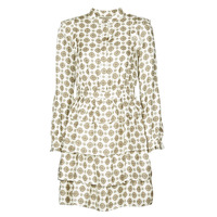 Vêtements Femme Robes courtes MICHAEL Michael Kors LUX MEDLN PINDOT DRS Beige