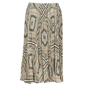 Vêtements Femme Jupes MICHAEL Michael Kors MEDALLION PLTED SKIRT Multicolore