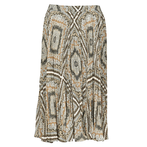 Vêtements Femme Jupes MICHAEL Michael Kors MEDALLION PLTED SKIRT Multicolore