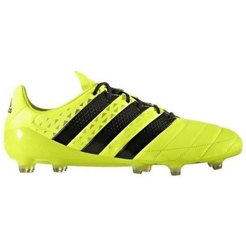 Chaussures Homme Football adidas Originals Ace 16.1 FG Leather Jaune