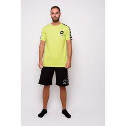 Vêtements Homme T-shirts manches courtes Lotto T-shirt  en jersey à demi-manches (ltu016-green) Vert