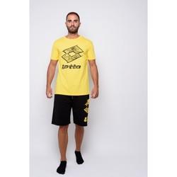 Vêtements Homme T-shirts manches courtes Lotto T-shirt  en jersey à demi-manches (ltu035-jaune) Jaune