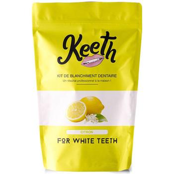 Beauté Soins visage Keeth Kit de blanchiment dentaire complet saveur citron Jaune