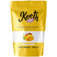 Beauté Soins visage Keeth Kit de blanchiment dentaire complet saveur mangue Orange