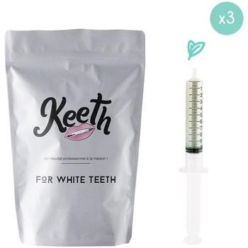 Beauté Soins visage Keeth Pack de 3 recharges menthe Gris