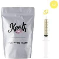 Beauté Soins visage Keeth Pack de 3 recharges citron Gris