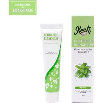 Beauté Soins visage Keeth Dentifrice au bicarbonate de soude blancheur saveur menthe Vert