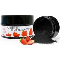Beauté Soins visage Keeth Poudre de charbon blanchissante saveur fraise 15g Noir