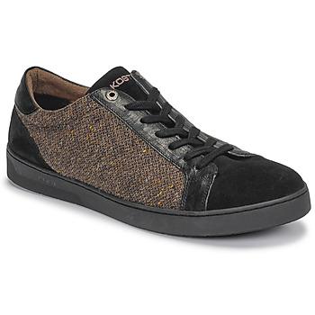 Chaussures Homme Baskets basses Kost CYCLISTE 55 Noir / Marron