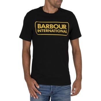 Vêtements Homme T-shirts manches courtes Barbour T-shirt Essential Large Logo noir