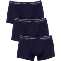 Sous-vêtements Homme Boxers Tommy Hilfiger Lot de 3 boxers Premium Essentials taille basse bleu