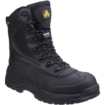Chaussures Homme Chaussures de travail Amblers  Noir