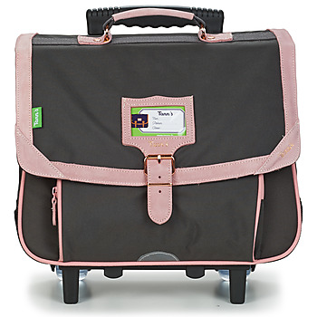 Sacs Fille Cartables Tann's TROLLEY 38 CM TANN'S BLUSH BRONZE Gris / Rose