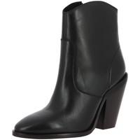 Chaussures Femme Bottines Bronx TEX HIGH Noir