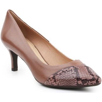 Chaussures Femme Escarpins Geox D Elina D D64P8D-0KF41-C5LA8 brązowy