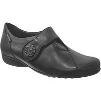 Chaussures Femme Ballerines / babies Mobils By Mephisto Faustine Noir cuir lisse