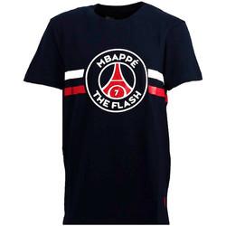 Vêtements Homme T-shirts manches courtes Psg Justice League Tee-shirt PSG Bleu