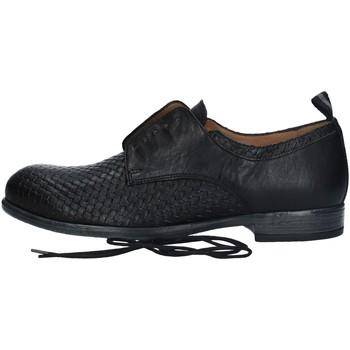 Chaussures Homme Derbies Antica Cuoieria 22037-8-V83 CHAUSSURES À LACETS homme NOIR NOIR