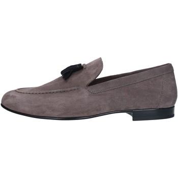 Chaussures Homme Mocassins Antica Cuoieria 22026 mocassin homme GRIS BLEU GRIS BLEU