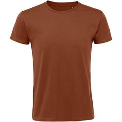 Vêtements Homme T-shirts manches courtes Sols Slim Fit Marron