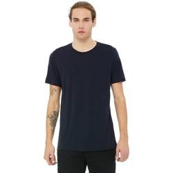 Vêtements Homme T-shirts manches courtes Bella + Canvas Triblend Noir