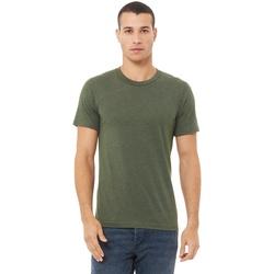 Vêtements Homme T-shirts manches courtes Bella + Canvas CA3413 Vert kaki
