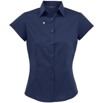 Vêtements Femme Chemises / Chemisiers Sols Excess Bleu foncé