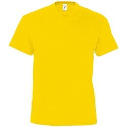 Vêtements Homme T-shirts manches courtes Sols Victory Jaune foncé