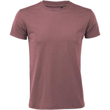 Vêtements Homme T-shirts manches courtes Sols Slim Fit Mauve