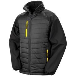 Vêtements Homme Doudounes Result Compass Noir / jaune