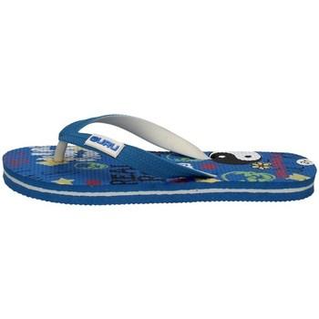 Chaussures Garçon Tongs Guru 92259 BLEU SUR