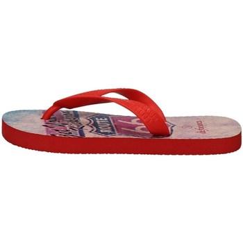 Chaussures Garçon Tongs De Fonseca RIMINI K300 ROUGE