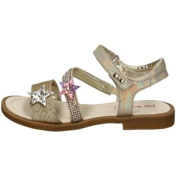 Chaussures Fille Sandales et Nu-pieds Asso AG-6501 PLATINE