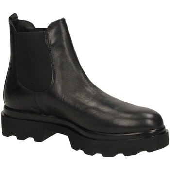 Chaussures Femme Bottines Antica Cuoieria MADISON nero-nero