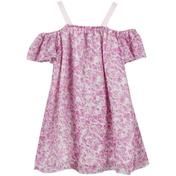 Vêtements Fille Robes courtes Floriane 2Q31535|79 Rose