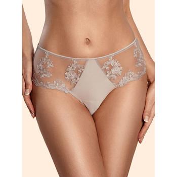 Sous-vêtements Femme Culottes & slips Ajour Slip taille haute Fiona taupe Taupe