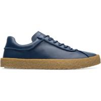 Chaussures Homme Baskets basses Camper Baskets à lacets cuir Bark bleu