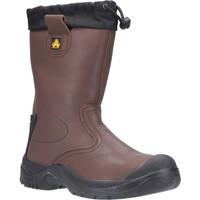 Chaussures Homme Chaussures de sécurité Amblers Safety  Marron