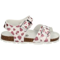 Chaussures Fille Sandales et Nu-pieds Grunland SB1535 BLANC