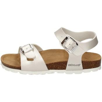 Chaussures Fille Sandales et Nu-pieds Grunland SB0646 PERLE