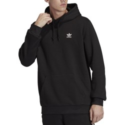 Vêtements Homme Sweats adidas Originals ESSENTIAL FELPA CON CAPPUCCIO NERO Noir