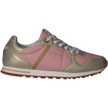 Chaussures Femme Multisport Pepe jeans PLS30983 VERONA W MIX Gold