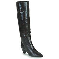 Chaussures Femme Bottes ville Vanessa Wu  Noir