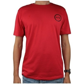Vêtements Homme T-shirts manches courtes Nike Dry Elite Bball Tee Rouge