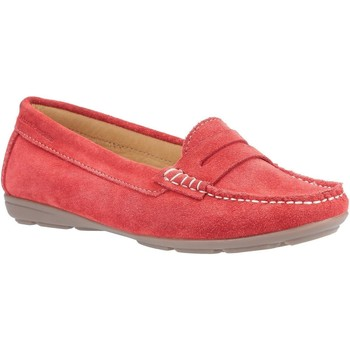 Chaussures Femme Mocassins Hush puppies  Rouge