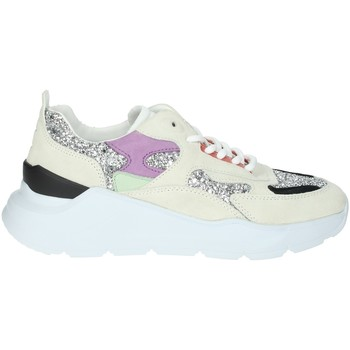 Chaussures Femme Baskets basses Date FUGA-4E Gris glace