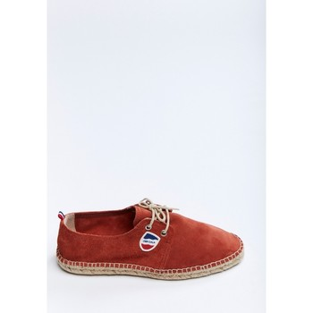 Chaussures Homme Espadrilles Cala RIVIERA LEATHER ROUGE HERMES